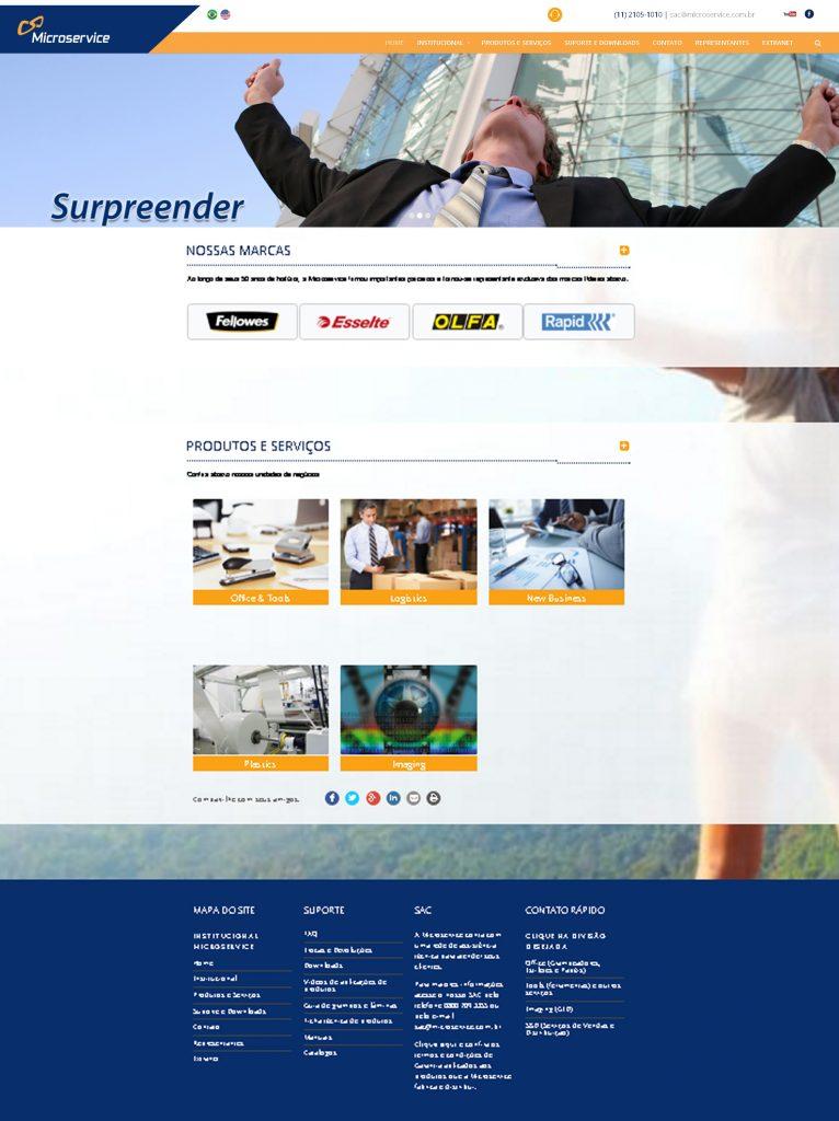 Microservice Portal Institucional